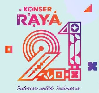 Konser Raya HUT 21 Indosiar Untuk Indonesia