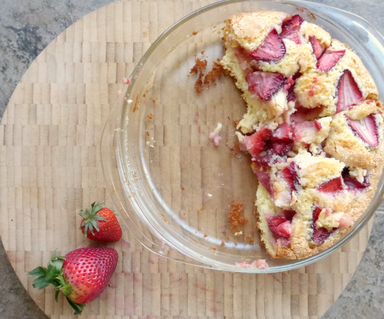 strawberry breakfast coffee cake recipe