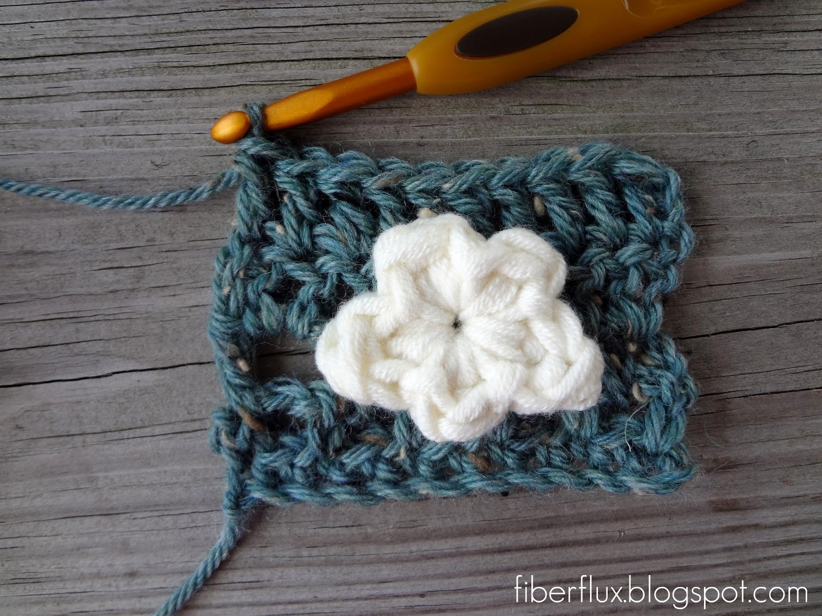 Fiber Flux: Free Crochet Pattern...One Round Cloud