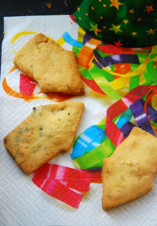 Ciasteczka wytrawne z parmezanem