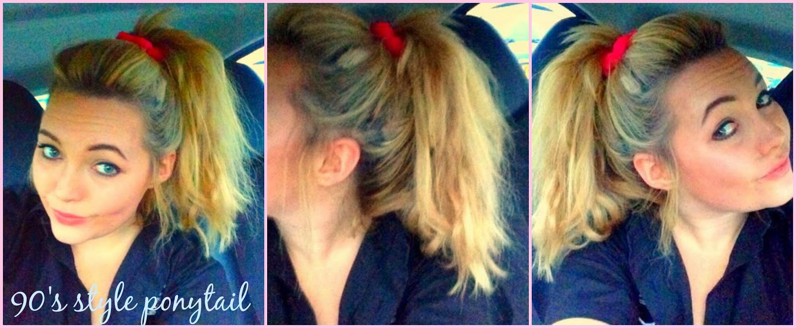 How Do You Put A Pony Tail Scrunchie On Short Hair | how