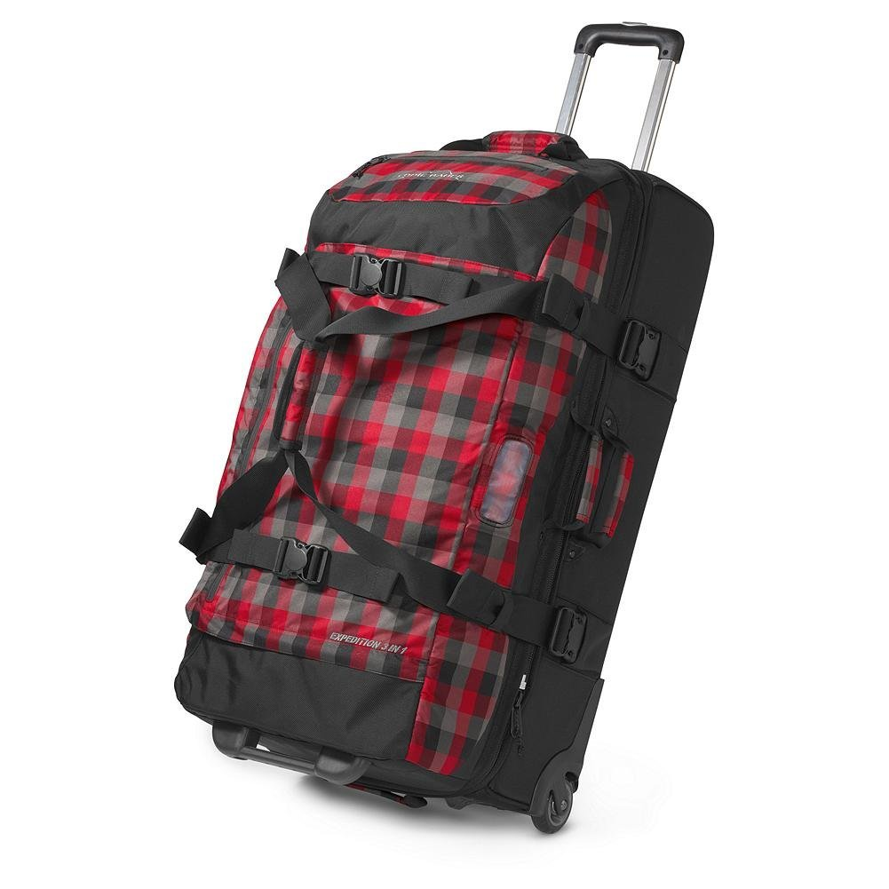 Eddie Bauer Rolling Duffel Bag is a high quality bag with tough  construction and high durability and can be used for a packing for a wide  range of ... 0f5996e490