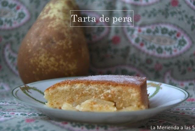 Tarta de pera by La Merienda a las 5