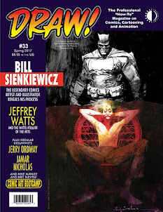 DRAW! Magazine NO.33 ON SALE NOW!