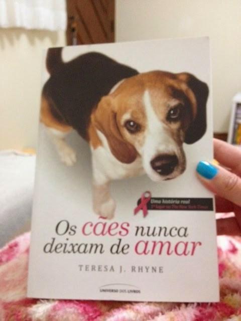 """Resenha do livro """" Cães nunca deixam de amar"""""""