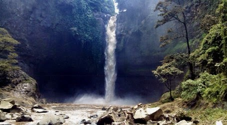 lokasi air terjun coban baung di purwodadi pasuruan jawa timur