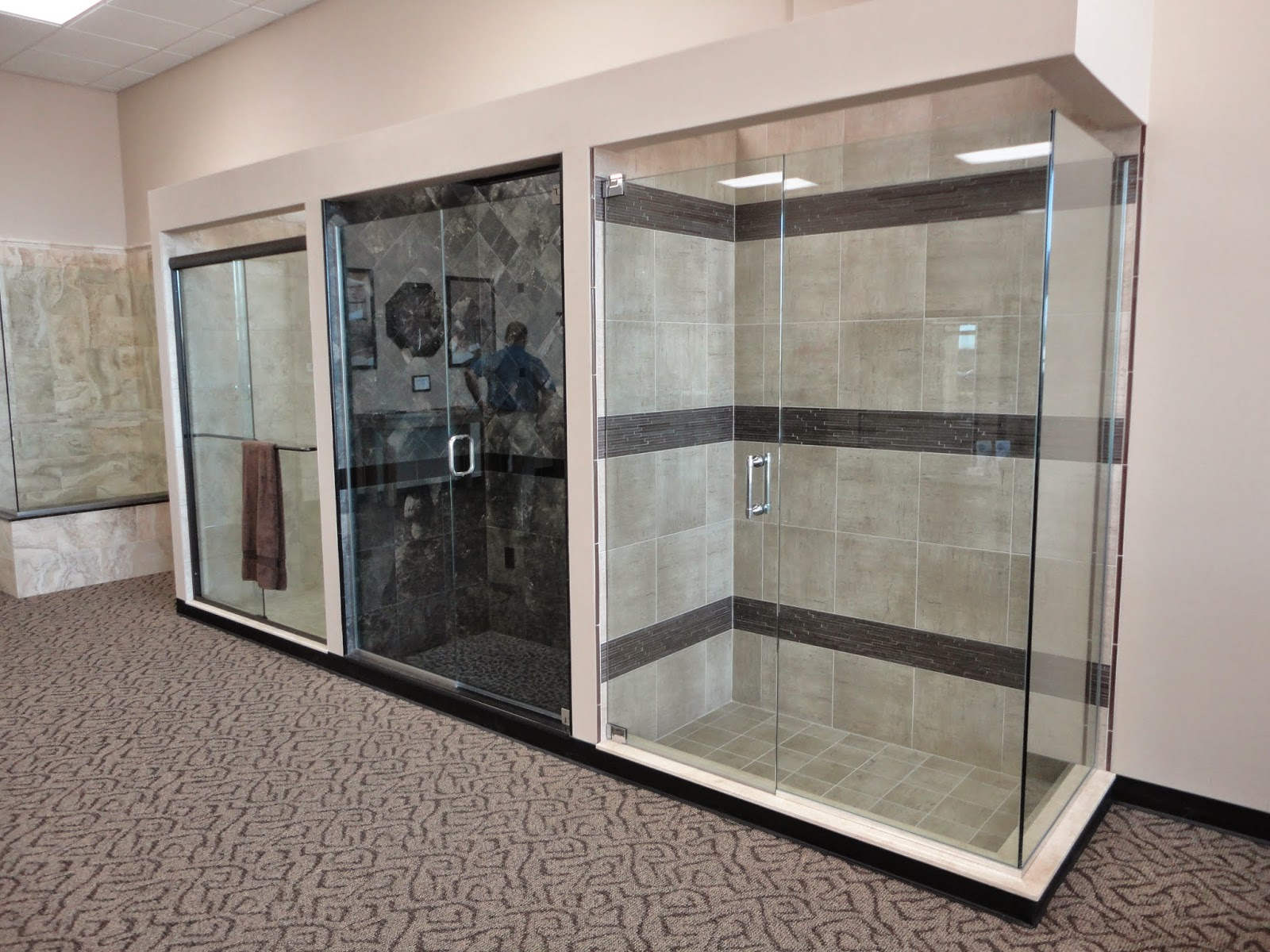 Tile Sarasota: Here are four shower displays we built for My Shower ...