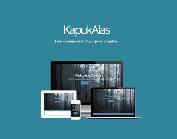 KapukAlas - Multipurpose template