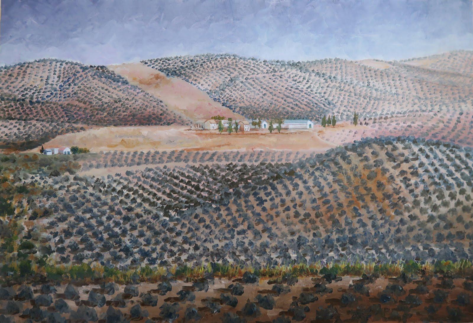 La Cañá vista desde Cadenas; Fuerte del Rey, Jaén (20M)