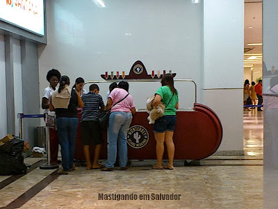 Helado Monterrey: Quiosque no Shopping Barra