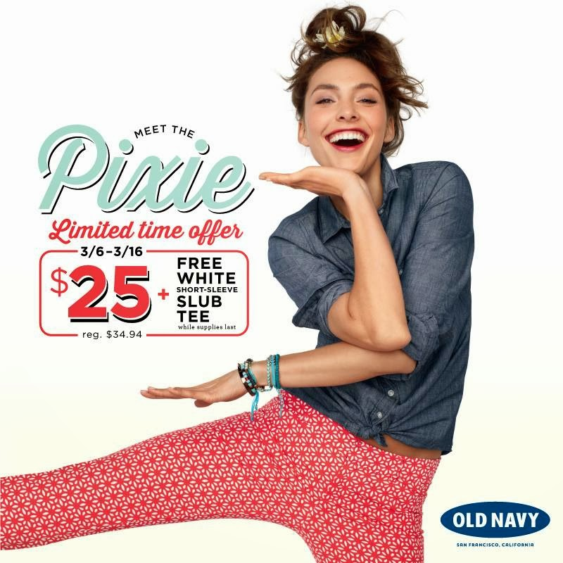Old Navy In Store Deals