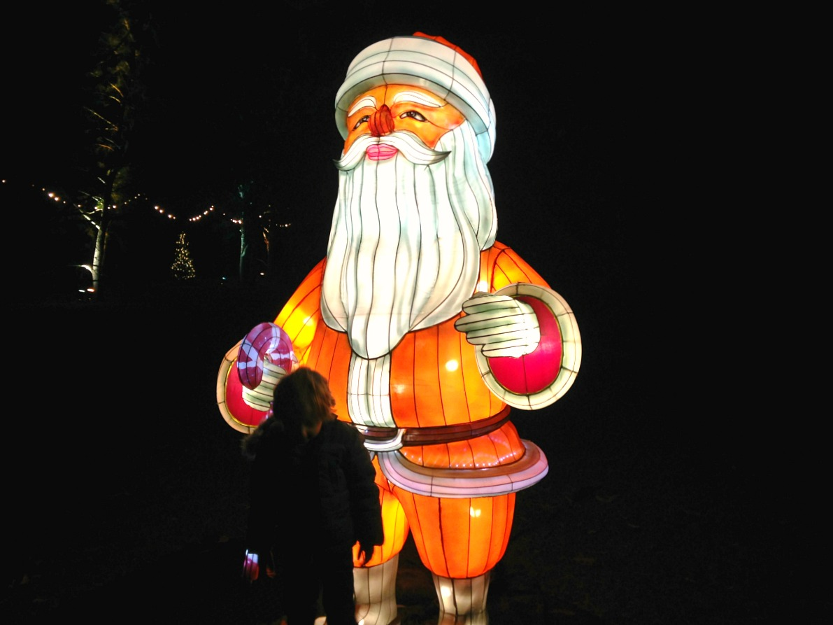 10 things to in London with kids at christmas santa