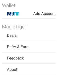 MagicTiger app Refer and Eaen paytm cash