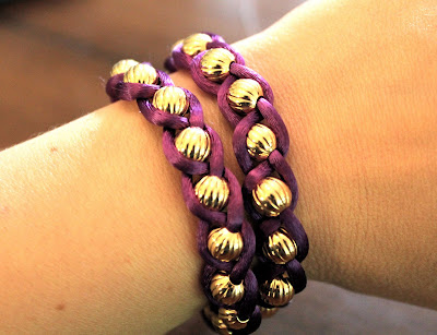 DIY Wrap Bracelet | HelloGlow.co