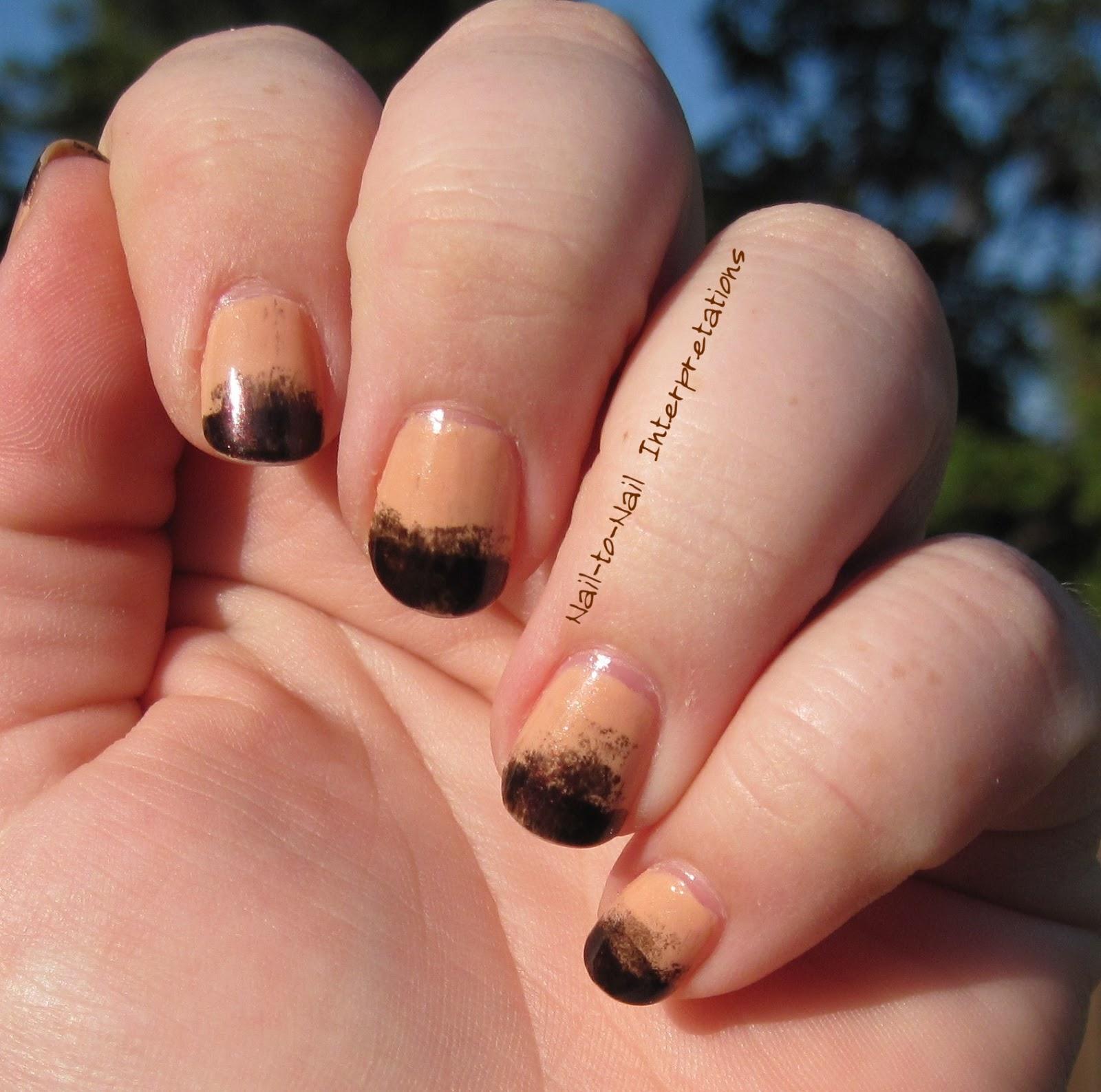 Nail-to-Nail Interpretations: Gradient French Manicure. . . Fail
