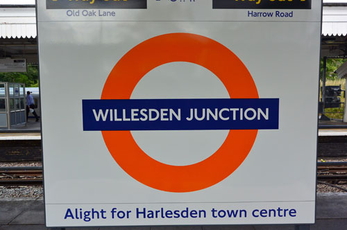 Willesden Junction Station, London, UK
