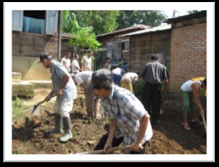 Kerja bakti warga merupakan contoh dari bentuk kerjasama