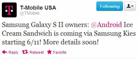 how to update samsung galaxy s ii firmware on t-mobile us
