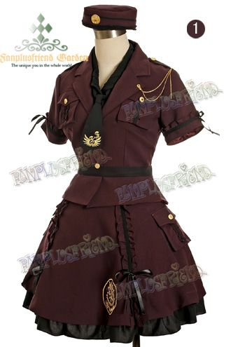Moda Kawaii, Lolita, Kawaii, Kawaii outfits, Military Lolita, Crazy and Kawaii Desu, Kawaii Desu,