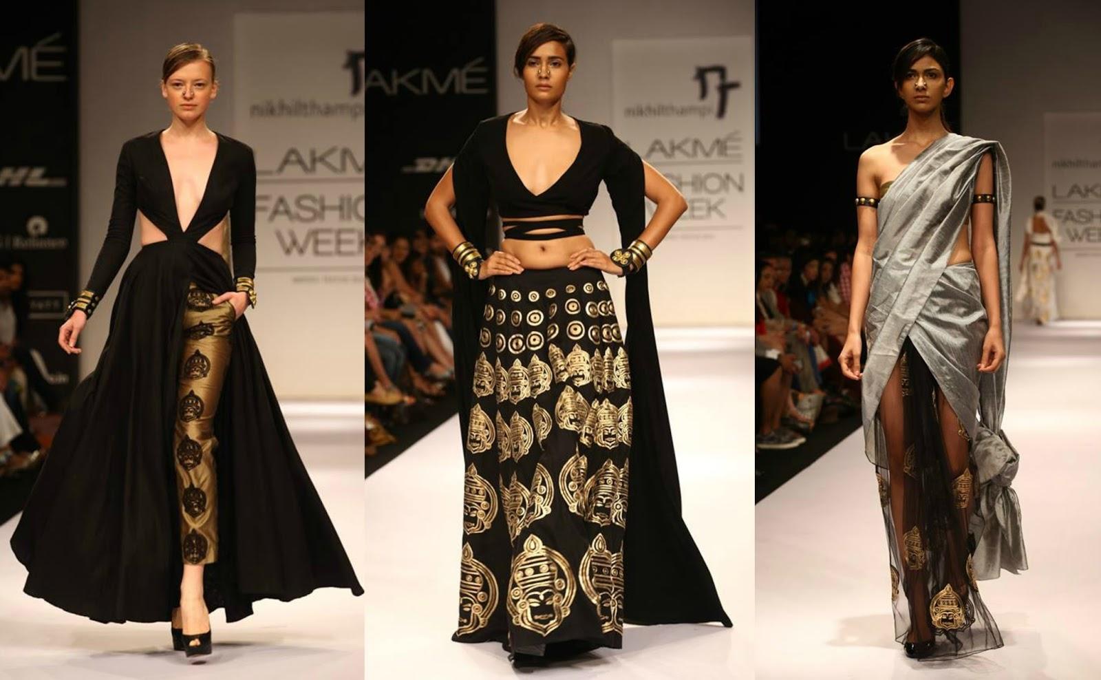 Punk Fashion Runway Male 'indian punk' by nikhil thampi