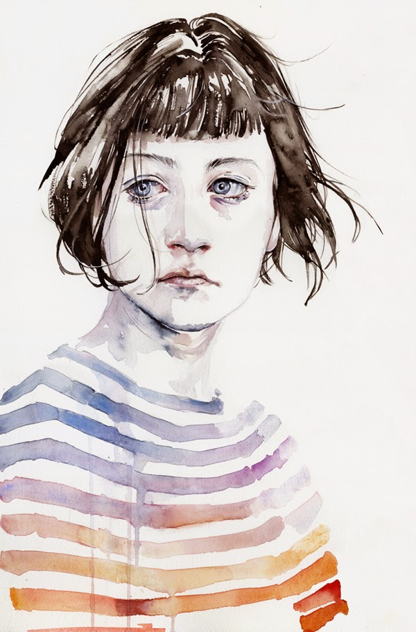 Increíbles retratos en acuarela · Watercolor portraits