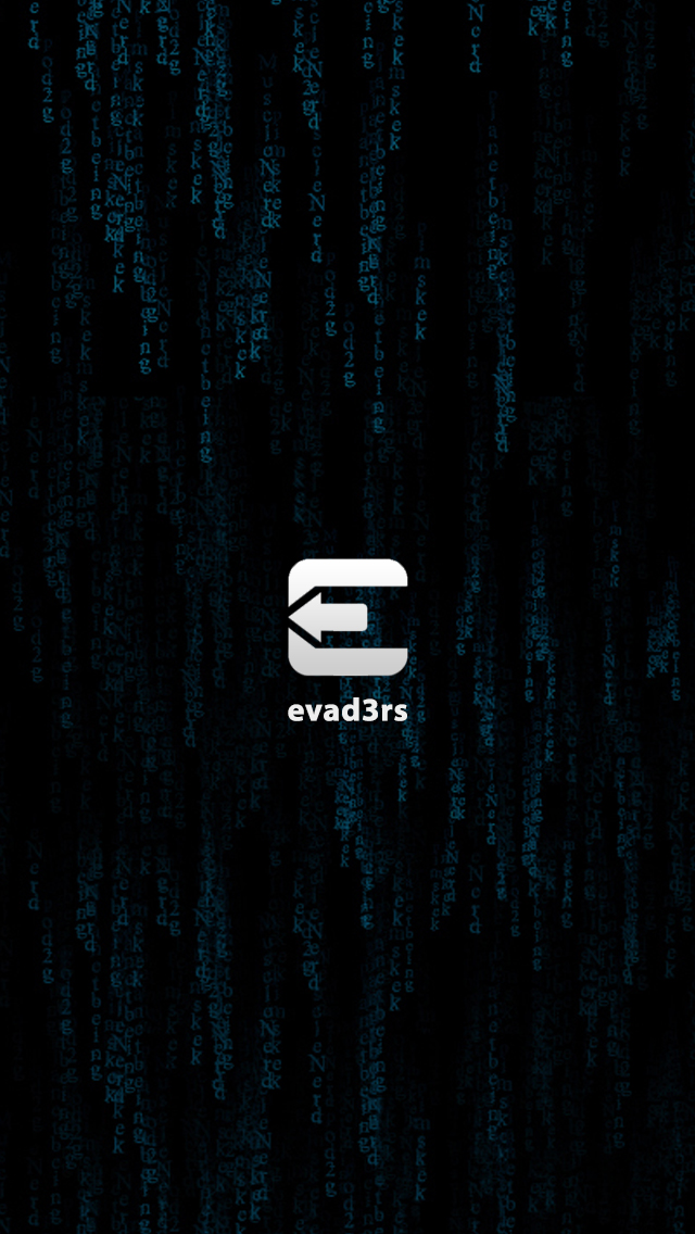 Evad3rs IPhone 5 Wallpaper