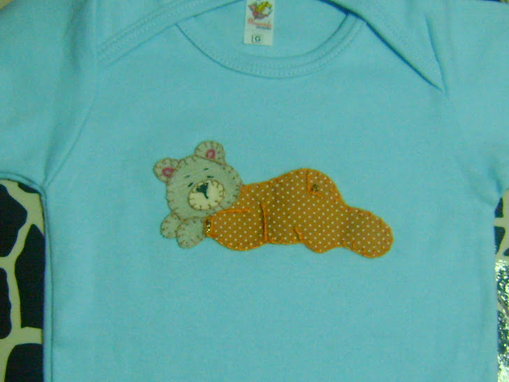 Body Infantil Bordado...