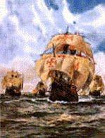 La Orden Templaria conocía y explotaba el continente Americano antes del 1300 d.C. Flota