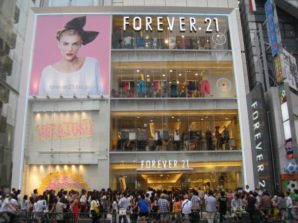 FOREVER 21 at Hong Kong