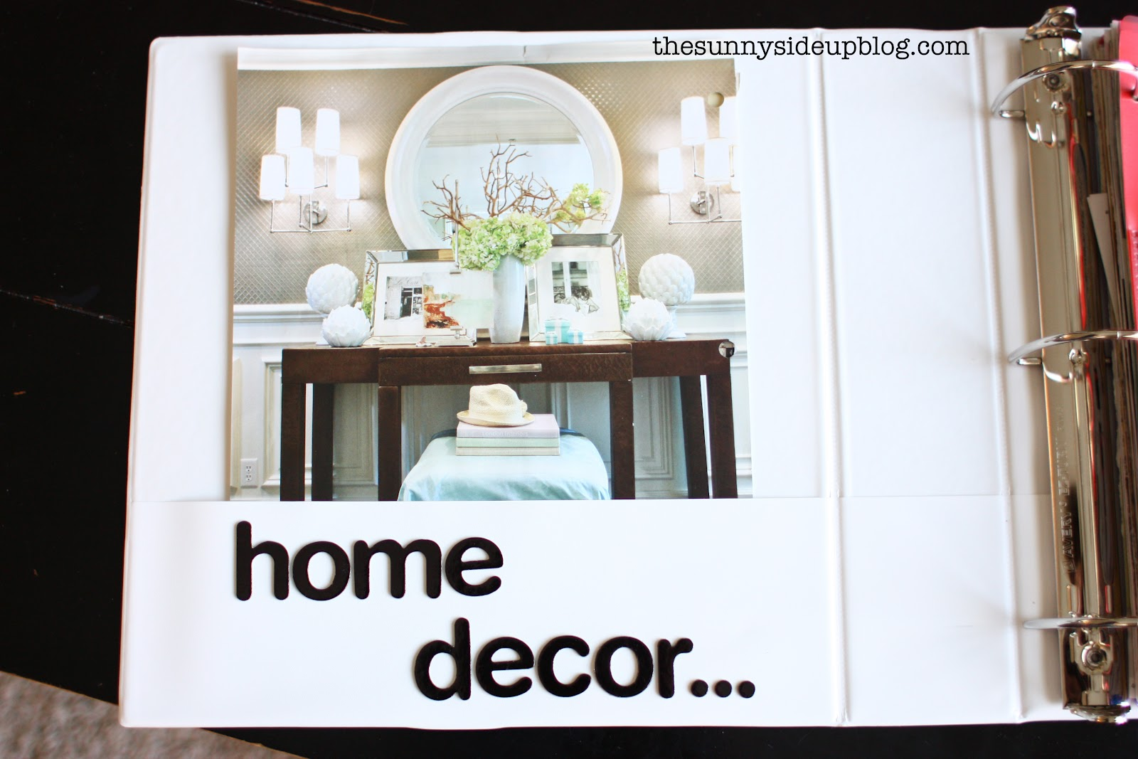 Home decor binder re do the sunny side up blog Pinterest everything home decor