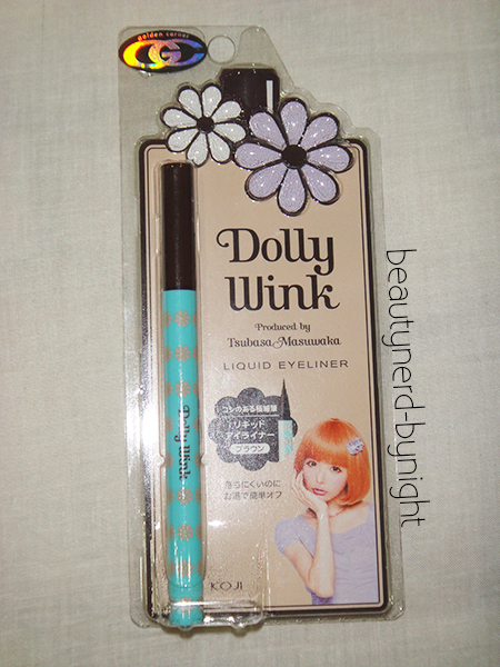 Dollywink Liquid Eyeliner in Brown
