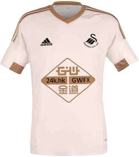 Adidas lança as novas camisas do Swansea City - Show de Camisas 0e12e0c9c8893