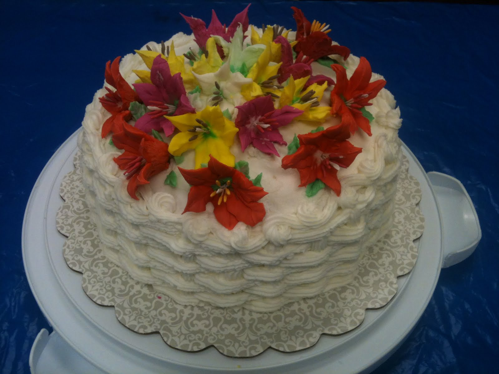 Cake Images Sonia : Cake Decorating by Sonia: November 2011 - Course 2 ...