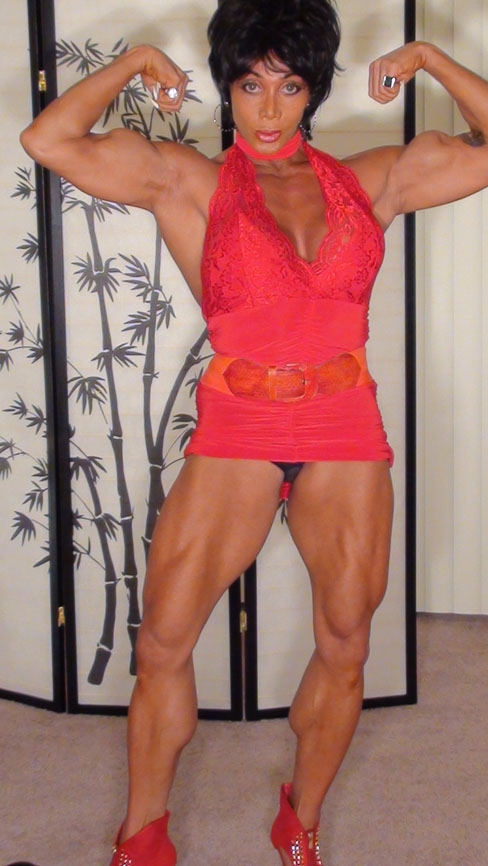 Latia Del Riviero Hot Female Muscle Bodybuilding Fitness Blog