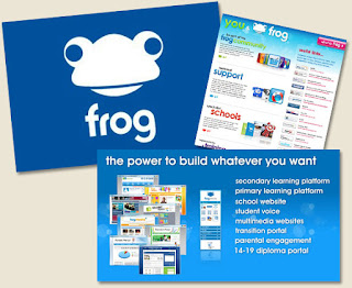 the frog virtual learning environment vle adalah satu sistem