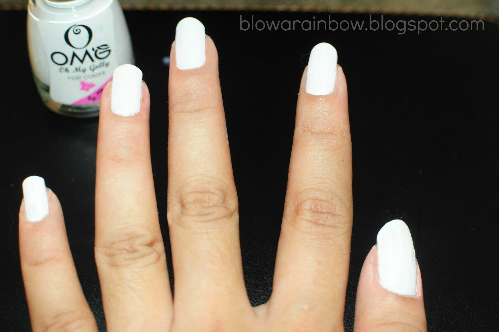 Nail Polish As White Out