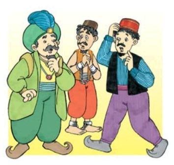 Gambar kartun Kumpulan cerita lucu Abu Nawas