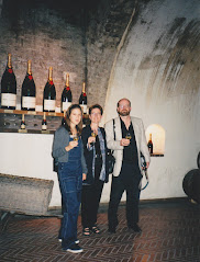 Erin, Shirley & Bill at Moet & Chandon, Epernay, Champagne, France