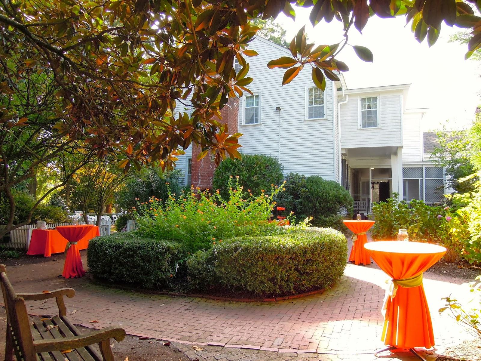raleigh wedding blog festive orange wedding for liz and lucas
