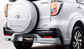 Eksterior Mobil Toyota New Rush Terbaru 2015_3