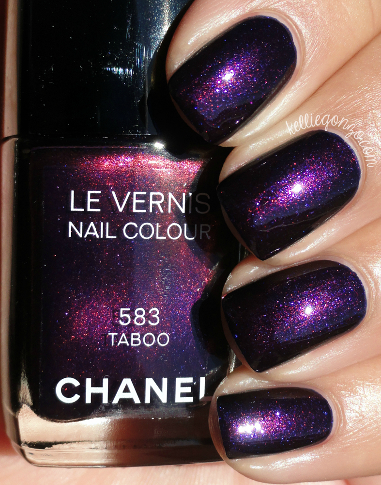 Chanel Taboo Swatch & Review