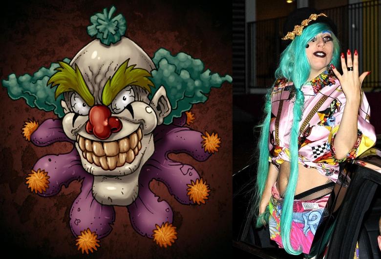 Lady Gaga Clown