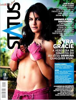 Revista Status Kyra Gracie Junho 2013 Torrent
