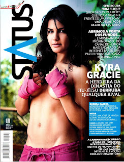 Download – Kyra Gracie : Revista Status – Junho 2013
