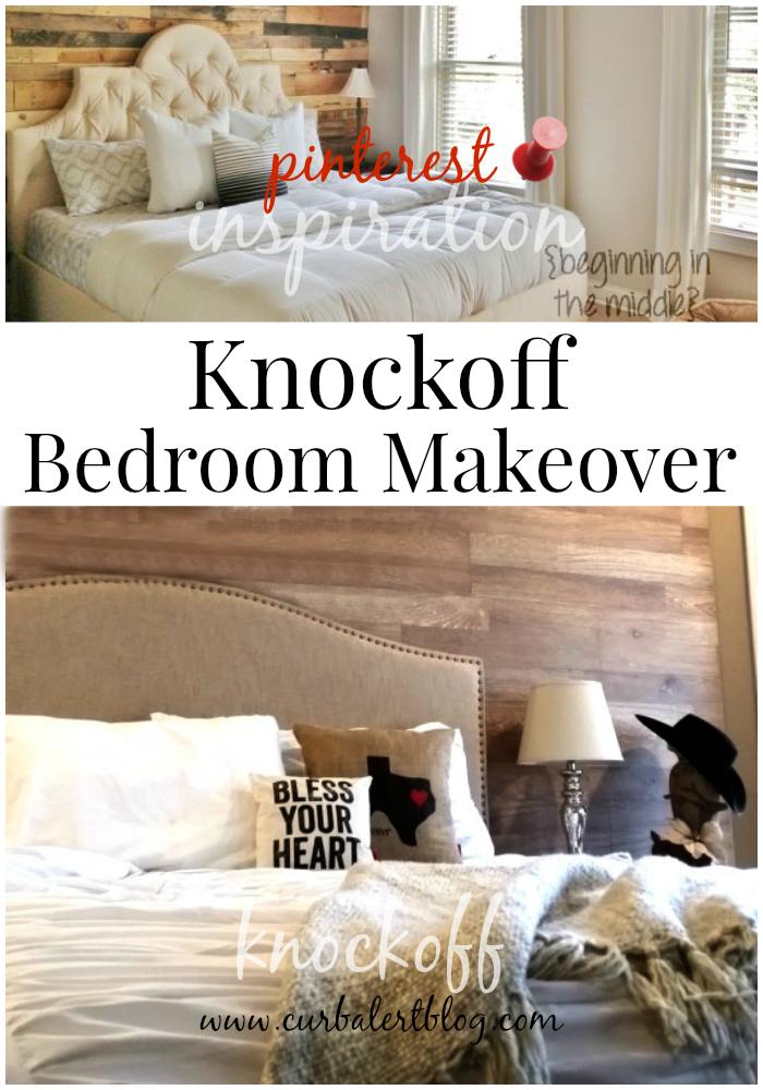 curb alert rock your knockoff pinterest bedroom makeover