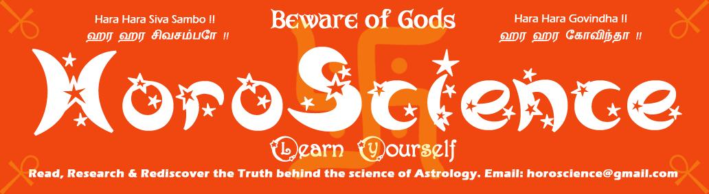 Horoscience.com - Learn Nadi and Vedic Astrology - தமிழ் ஜோதிடம், நாடி ஜோதிடம் படியுங்கள்