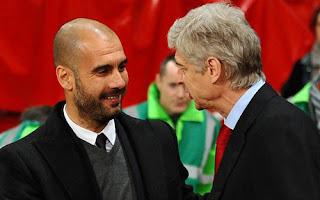 Guardiola dirigirá al Arsenal en reemplazo de Wenger