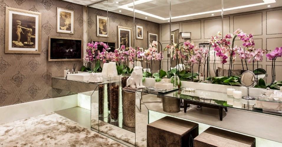 40 Bancadas de banheiroslavabos – veja modelos modernos e maravilhosos!  De -> Armario De Banheiro Ferreira Costa Salvador