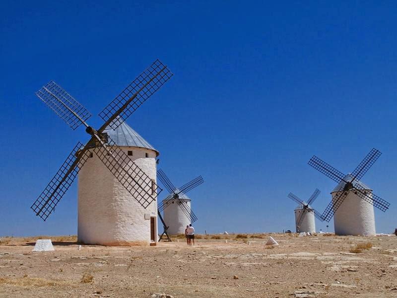 Molinos de La Mancha.