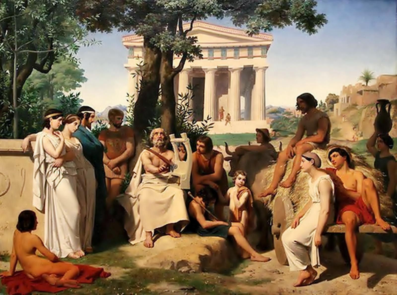 Η Μυθολογία είναι πρωτότοκη αδελφή της Ιστορίας.
